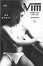 Vim No.9 April 1965 w/Bulletin 20, Vintage Male Beefcake Magazine