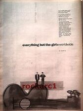 Everything But The Girl Worldwide 1991 UK Poster size Press ADVERT 16x12""