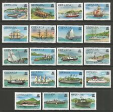 STAMPS-GRENADA. 1980. Shipping Definitive (No Imprint) Set. SG: 1081A/99A. MNH