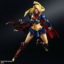 DC Comics Supergirl PA Play Arts Kai Super Girl Action Figure Toy Doll Model