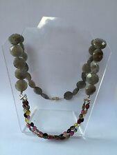 Labradorite And Turmaline Necklace