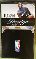 🔥2010/11 Panini Prestige Gravity Feed Box 36 Unopened Packs Wall George Rookie?