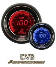 Prosport 52mm EVO Car Water Temperature Gauge LCD Digital Display Red and Blue