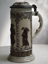 antique Villeroy & Boch beer - wine pitcher/ pot / hump jug, 1872 for collectors