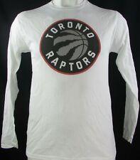 Toronto Raptors NBA Fanatics Men's White Long Sleeve T-Shirt