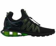 c8eaab18f59 Nike Shox Gravity Mens AR1999-003 Black Gorge Green Lime Running Shoes Size  10.5