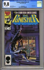 Punisher Limited Series #4 - CGC 9.8 WP - Jigsaw Appearance