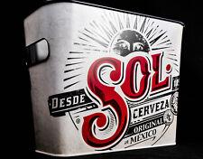 """Sol Bier, Eiswürfeleimer, Eiswürfelbehälter, Flaschenkühler, beschichtet """"SOL"""""""