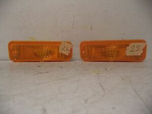 SET 83-88 FORD RANGER PARK/SIGNAL LAMP UNIT 84-88 FORD BRONCO II GLO-BRITE GB25S