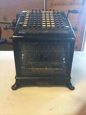 Antique No.1 Burroughs Beveled Glass Adding Machine