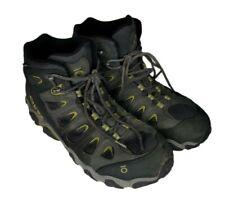 Oboz Sawtooth II Mid B-Dry Dark Shadow Woodbine Green Hiking Boots Men's 11 M