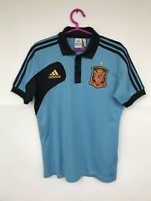 SPAIN 2012 ADIDAS FOOTBALL SOCCER POLO SHIRT JERSEY CAMISETA