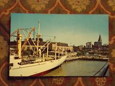 Vintage Postcard Port Of Cleveland, Cleveland, Ohio