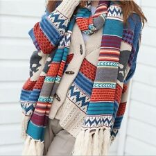 New Women Bohemia retro knitted thick Winter scarf long scarf Free Shipping