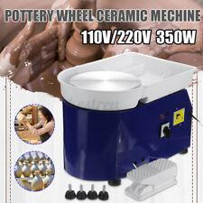 350W Electric Pottery Wheels Machine Stirring Ceramic Work Clay Craft Art