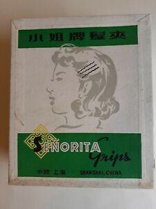Vintage Box Hair Grips gairdresding updo wedding goodwood stock shop retro salon