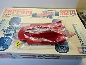 Tamiya 1:12 Scale Ferrari 312T4 Cockpit Cowling only as Pictured in Original Bag