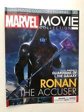 Colección de película MARVEL edición 30 Ronan el Acusador EAGLEMOSS estatuilla Mag sólo