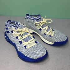 Used Adidas Crazy Explosive Primeknit Blue Running Men Basketball Sneakers Sz 11