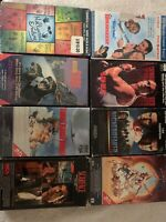 VHS MOVIES – Lot of 8/ Sinbad, Arnold Schwarzenegger; Scarface.