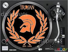 """1968 TROJAN RECORDS Jamaica 12"""" or 7"""" DJ SLIPMAT slip mat platter NEW mv"""