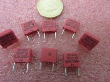 MKP10 0.01uF 10nF 250 V WIMA Condensatore in polipropilene 10 per la vendita. solo 40p ogni
