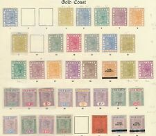 Gold Coast QV MINT 1875-1901 20/- value  HUGE SELECTION SOME UNMOUNTED