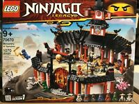 70670 LEGO Ninjago Legacy Monastery of Spinjitzu 1070 Pieces New Sealed Box