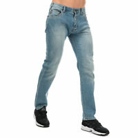 Mens Armani Jeans J45 Slim Fit Jeans In Denim