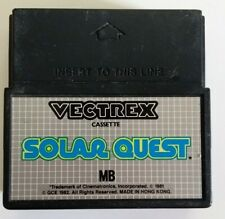 Jeu video MB Vectrex - SOLAR QUEST - Cartouche Retrogaming - Testé OK