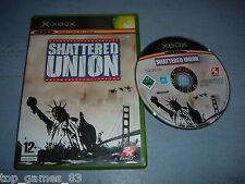 SHATTERED UNION XBOX (envoi suivi)
