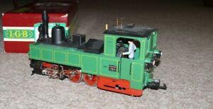 M22 LGB  2073D  Tenderlok Reihe U Waldenburgerbahn digital Sound (14)Spur G