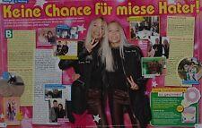 LISA & LENA - 2 Seiten Bericht - Clippings Artikel Fan Sammlung NEU