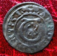 SILESIA - TESCHEN = 1651 = OBOLUS - DUCHESS ELISABETH LUCRETIA