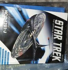 More details for u.s.s. enterprise j xl edition & mag - eaglemoss hero collector - new & sealed
