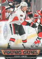 2013-14 Upper Deck Hockey #475 Cody Ceci YG RC Ottawa Senators