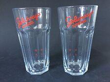 2x STOLICHNAYA Vodka Glas Gläser NEU OVP Longdrink Cocktail 34cl Stapelglas