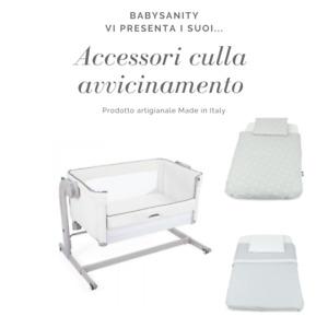 Babysanity Accessori universali culle avvicinamento tipo Chicco Next2Me ecc..