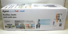 Dyson Pure Hot+Cool Purifying Heater Fan HP01 With Remote - White/Silver - New!