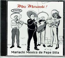 Mariachi Mexico de Pepe Villa Mas Mariachi (23 Exitos)   BRAND  NEW SEALED CD