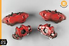 07-13 Mercedes W216 CL550 S550 Front & Rear Brake Calipers Set of 4 OEM