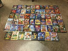 Disney DVD Huge Lot of 60 Movies - LOTS OF CLASSIC !!  FREE SHIPPING !!