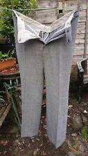 "vintage gentlemens trousers 36""waist Burton tailored 1960s"