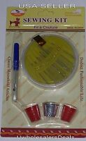 Sewing Kit - Sewing Needles, Seam Ripper, Thimbles - 24 pcs SET NEW in Pack
