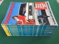 Lotto 11 Riviste/Magazine QUATTRORUOTE ANNATA 1981 FIAT 127 131 ALFA GIULIETTA
