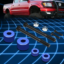 """FOR 07-17 TOYOTA TUNDRA 4WD BLUE 1"""" LOWER FRONT DIFFERENTIAL DROP KIT SPACERS"""