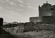 1928/72 Vintage ANSEL ADAMS New Mexico Pueblo Church Landscape Photo Art 11X14