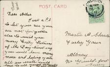Arthur Shrubb, Farley Green, Albury 1911 - 'Mary'  qq422