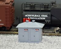 HO Scale Electrical Control Cabinet Model Railroad Handcrafted Custom Designed