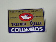 sticker adesivo per bici da corsa vintage Columbus Tretubi Aelle